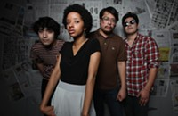 The Tontons at Evening Muse tonight (10/24/2012)