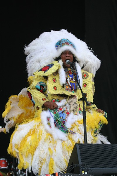 The Wild Magnolia Mardi Gras Indians (Bonnaroo, Manchester, Tenn., June 14-17)