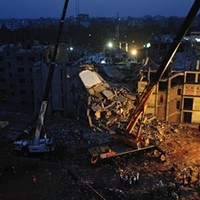 The worst accident in garment-industry history killed some 400 people last week.