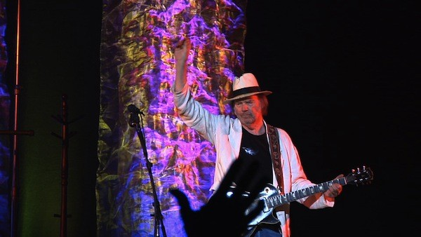 THE YOUNG AND THE RESTLESS: Neil Young, still playing hard. - SONY PICTURES CLASSICS