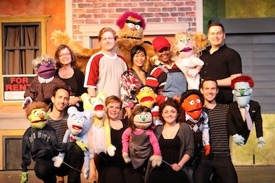 Avenue Q Christmas Eve.Theater Review Avenue Q The Clog