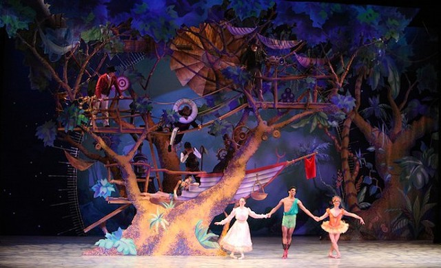 Peter Pan Treehouse Theater Review Peter Pan
