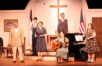 Theater review: <i>Smoke on the Mountain</i>