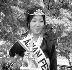 JENNIFER LARSON - There She Is, Miss Asian Festival