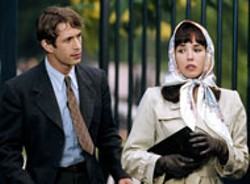JEROME PREBOIS / SONY PICTURES CLASSICS - THEY'LL ALWAYS HAVE PARIS Gregori Derangere - and Isabelle Adjani discuss their past bliss in Bon - Voyage