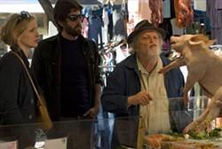 SAMUEL GOLDWYN FILMS - THIS LITTLE PIGGY WENT TO MARKET: Julie Delpy, Adam Goldberg and Albert Delpy in 2 Days in Paris