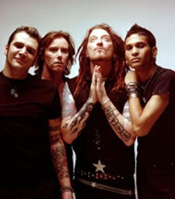 This was The Wildhearts' current lineup at press-time
