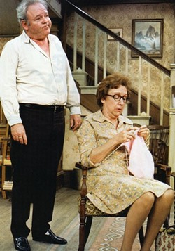 SHOUT! FACTORY - THOSE WERE THE DAYS: Carroll O'Connor and Jean Stapleton in All in the Family.