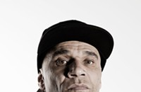 Drum and bass pioneer Goldie hasn't slowed