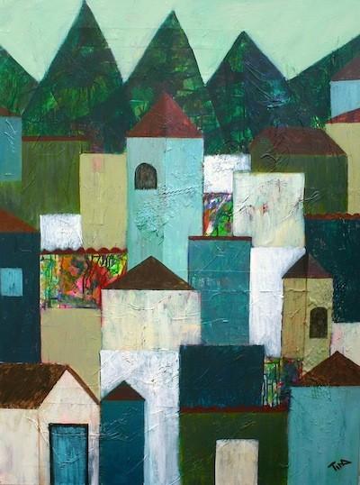 Tina Albernis Green Peaks