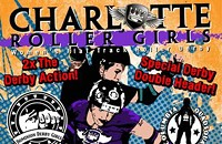 Charlotte Roller Girls double trouble