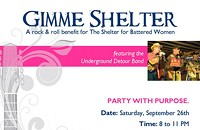 'Gimmie Shelter' gives good cause to party