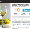 Today's Living Social Deal: Dolce Vita