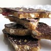 Bacon and pretzel toffee