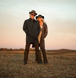 DAVID MCCLISTER - TOGETHER AGAIN: Emmylou Harris and Rodney Crowell