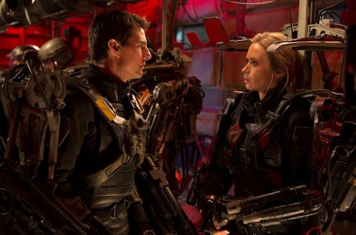 Tom Cruise and Emily Blunt in Edge of Tomorrow (Photo: Warner Bros.)