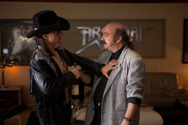 Tom Cruise and Paul Giamatti in Rock of Ages (Photo: Warner Bros.)