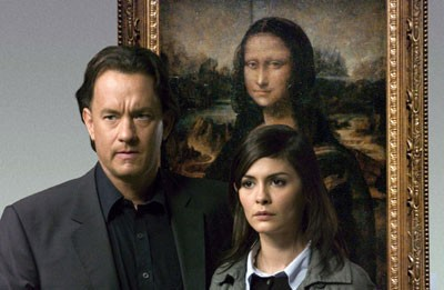 Tom Hanks and Audrey Tautou in The Da Vinci Code - COLUMBIA