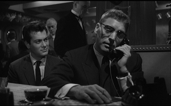 Tony Curtis and Burt Lancaster in Sweet Smell of Success