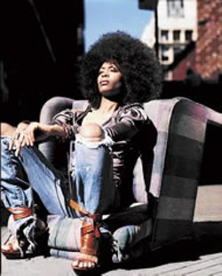 MARC BAPTISTE - Too cool for the old school: Erykah Badu, retro-future soul sista No. 1, performs in Charlotte this weekend.