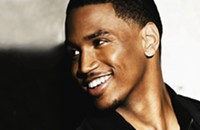 Trey Songz at Bojangles Coliseum tonight (12/14/2012)