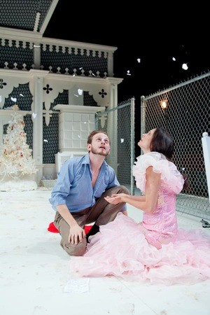 Luke Robertson and Krista Hoeppner in A Doll House
