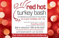 Another great charity party: Red Hot Turkey Bash