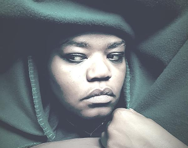 Randi Johnson under covers. (Photo courtesy of Randi Johnson)