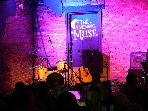 A Tosco Music Open Mic night at the Evening Muse. (Photo by Ryan Pitkin)