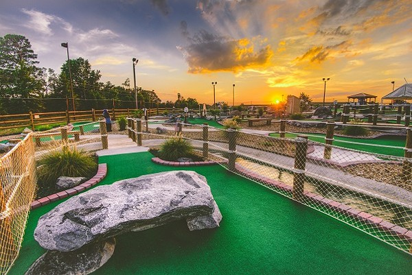 Mr. Putty's Fun Park is just over the line in South Carolina. (Photo courtesy of Mr. Putty's)