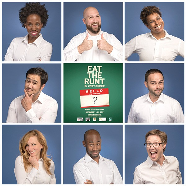 "The ""Runt"" cast. (Photos by Weldon Weaver)"