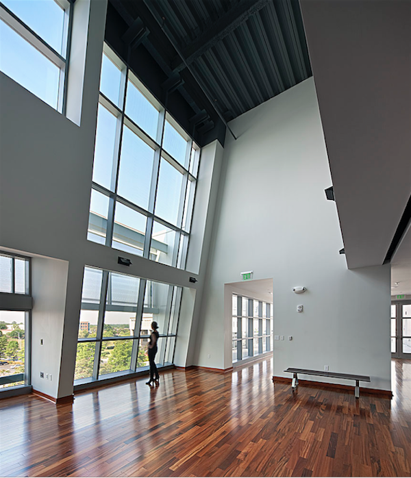 "The Gantt Center space ""took our breath away."" (Photo by Mark Herboth)"