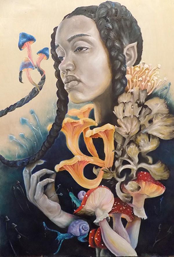 """Mushroom Nymph,"" by Sloane Siobhan"