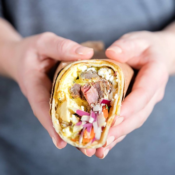 A delicious Tandur wrap.
