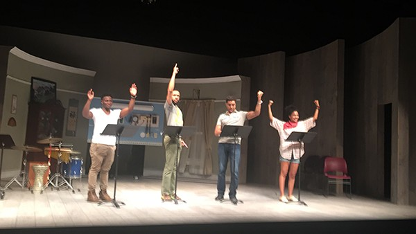 NYC's Playwrights Horizon stages Rose's 'America V 2.1.' (Photo by Stacey Rose)