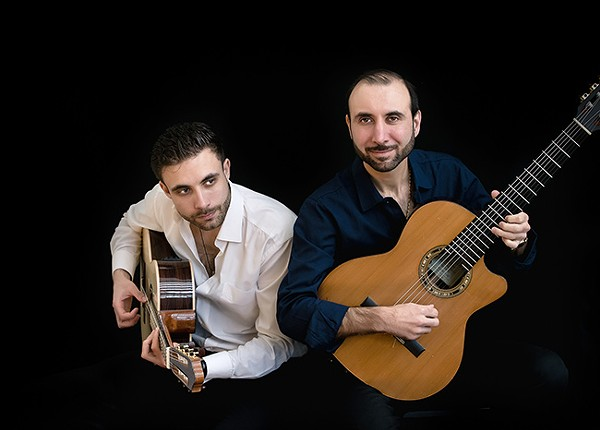The VS Guitar Duo: Sasha (left) and Vadim Kolpakov (PhotochemistryByLuba)