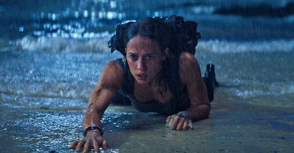 Alicia Vikander in Tomb Raider (Photo: Warner & MGM)