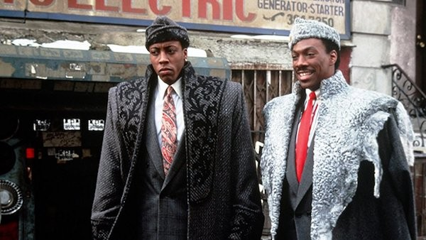 Arsenio Hall and Eddie Murphy in Coming to America (Photo: Paramount)