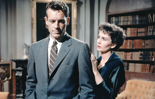 Guy Madison and Jean Simmons in Hilda Crane (Photo: Twilight Time)