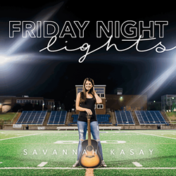 'Friday Night Lights' cover art (Design by Heather Sandler)