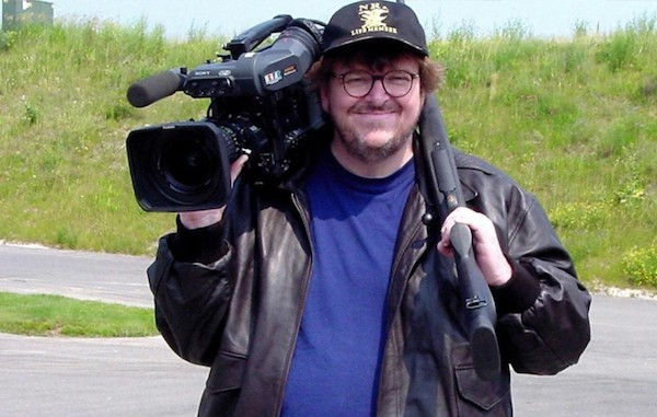 Michael Moore in Bowling for Columbine (Photo: Criterion)