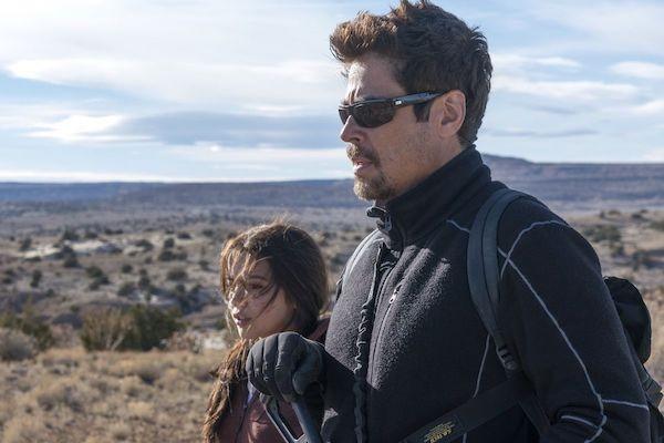 Isabela Moner and Benicio Del Toro in Sicario: Day of the Soldado (Photo: Columbia)