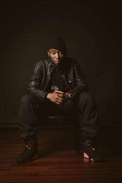 Winston-Salem rapper 9th Wonder, shot by Chris Charles