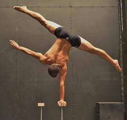 Jordan Garcia with Nouveau Sud strikes a pose.