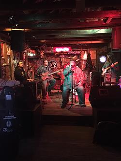 """The Smokin' J's at Smokey Joe's """"Open Jam."""" (Photo by Pat Moran)"""