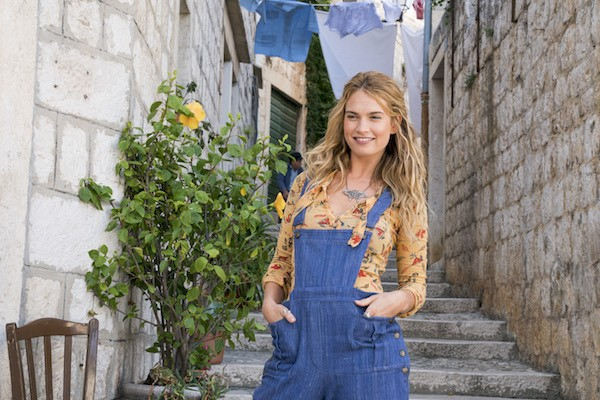 Lily James in Mamma Mia! Here We Go Again (Photo: Universal)