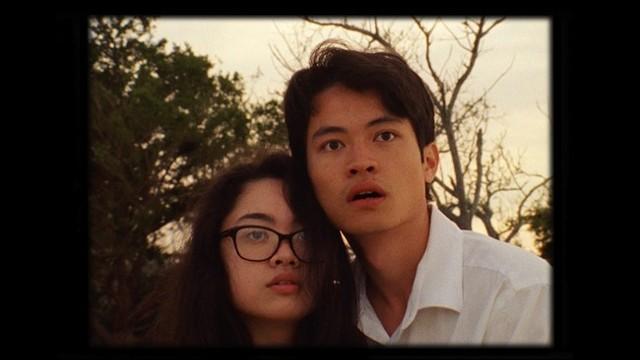 Julia Valdes (left) and Oliver Chen in 'The Green Giant of Zanzuki.'