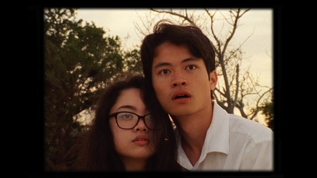 Julia Valdes (left) and Oliver Chen in 'The Green Giant of Zanzuki.'