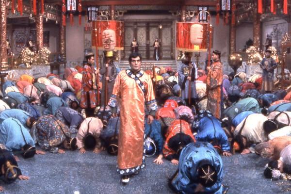 Omar Sharif in Genghis Khan (Photo: Twilight Time)