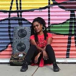 DJ SPK (Photo by Christopher Dobbins, Jr.)